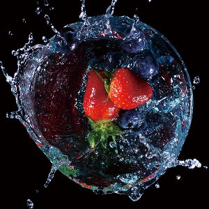 Strawberry splash II