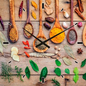 Wall clock spices II