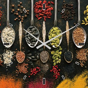 Wall clock spices III