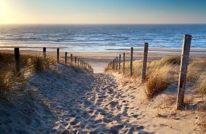 Sand path to the sea 2