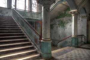Lost Place Staircase 1