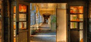 Lost Place corridor 3