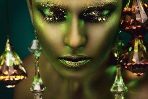 Spektakuläre grüne Schönheit