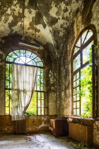 room in a lost place