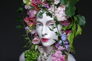 Beauty with Flowerwig
