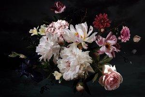 Joli bouquet de fleurs III