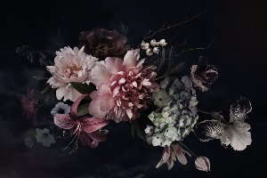 Hübsches Blütenbouquet IV