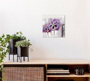 Mini purple flower