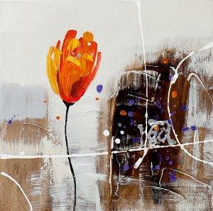 Acryl Gemälde 25 x 25 cm Sale