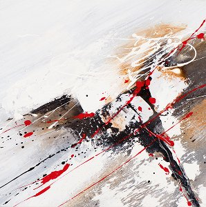 Acrylic painting 40 x 40 cm