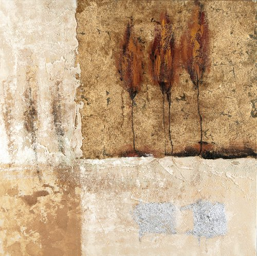 Acryl Gemälde 40 x 40 cm Sale