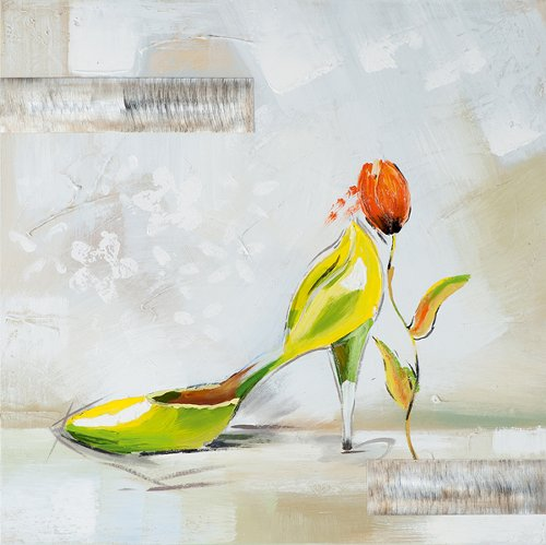 Acryl Gemälde 50 x 50 cm Sale