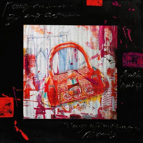 Peinture acrylique 70 x 70 cm Sale