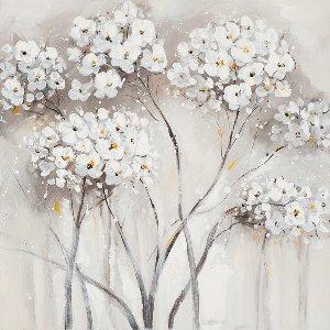 white hydrangea I