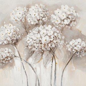 white hydrangea II