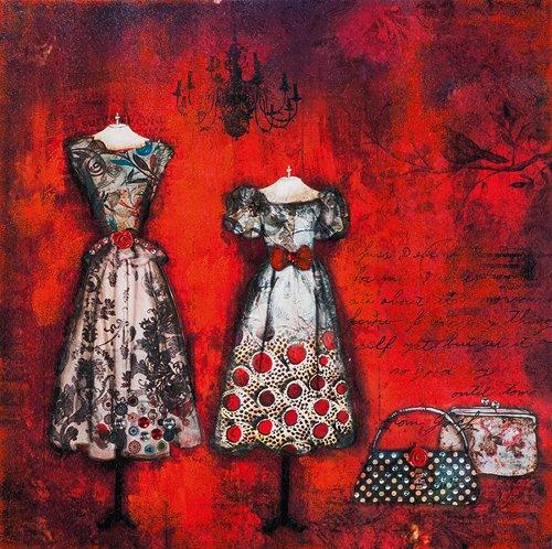 Acryl Gemälde 75 x 75 cm Sale