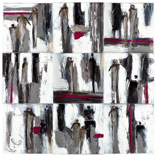 Acryl Gemälde 90 X 90 cm