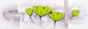 Acryl Gemälde 40 x 120 cm