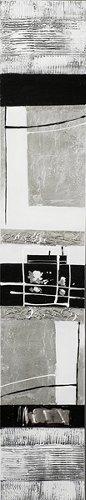 Acryl Gemälde 25 x 150 cm