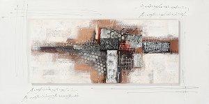 Acryl Gemälde 50 x 100 cm